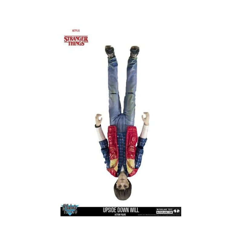 STRANGER THINGS - UPSIDE DOWN WILL ACTION FIGURE MCFARLANE