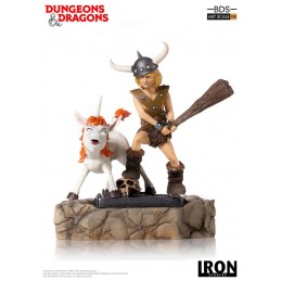 DUNGEONS AND DRAGONS BOBBY THE BARBARIAN BDS ART SCALE 1/10 STATUE FIGURE