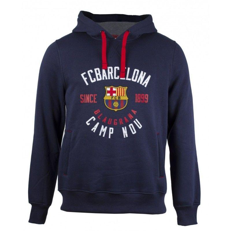 FELPA HOODIE UFFICIALE FC BARCELONA