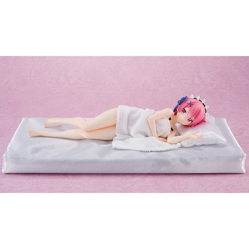 RE:ZERO STARTING LIFE IN ANOTHER WORLD PVC STATUE 1/7 RAM SLEEP SHARING 23 CM