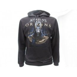 FELPA HOODIE ASSASSIN'S CREED ORIGINS ANUBI NERA