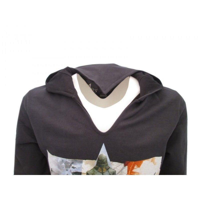 FELPA HOODIE ASSASSIN'S CREED UNITY NERA