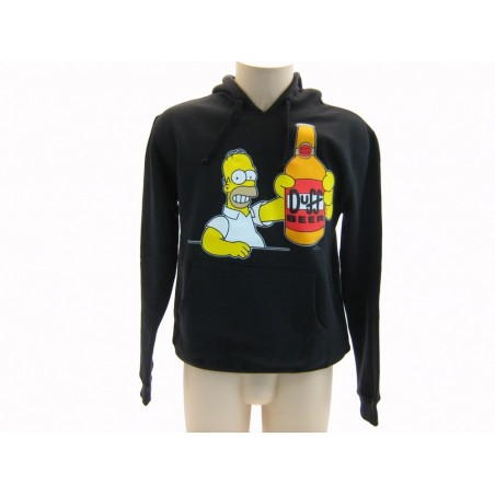 FELPA HOODIE THE SIMPSONS DUFF BEER HOMER NERA