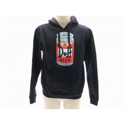 FELPA HOODIE THE SIMPSONS DUFF BEER LATTINA NERA