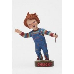NECA CHUCKY WITH KNIFE BOBBLE HEADKNOCKER ACTION FIGURE