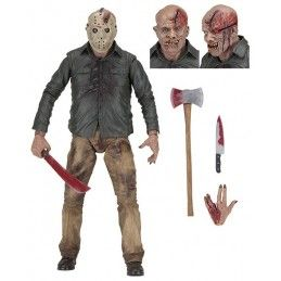 FRIDAY THE 13TH - JASON 1/4 45CM DELUXE ACTION FIGURE NECA