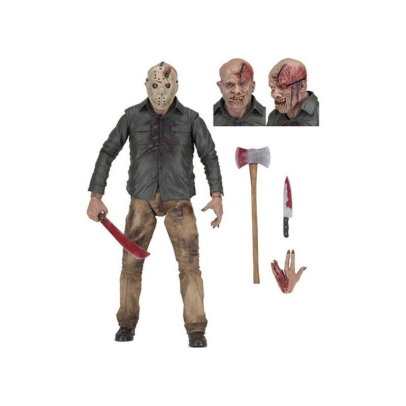 NECA FRIDAY THE 13TH - JASON 1/4 45CM DELUXE ACTION FIGURE