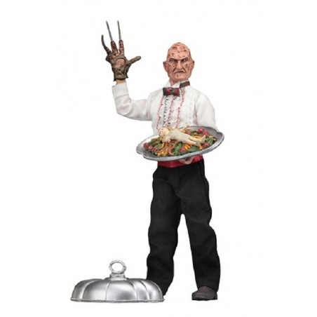 NIGHTMARE ON ELM STREET - CHEF FREDDY KRUEGER ACTION FIGURE