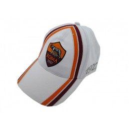CAPPELLO BASEBALL CAP AS ROMA UFFICIALE BIANCO
