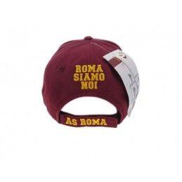 CAPPELLO BASEBALL CAP AS ROMA UFFICIALE ROMA SIAMO NOI