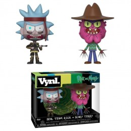 RICK AND MORTY VYNL VINYL FIGURES 2-PACK RICK AND SCARRY TERRY 10 CM FUNKO
