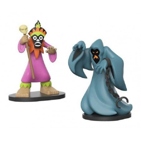 SCOOBY DOO VYNL VINYL FIGURES 2-PACK PHANTOM AND DOCTOR 10 CM