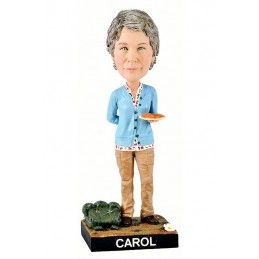 WALKING DEAD CAROL HEADKNOCKER BOBBLE HEAD FIGURE ROYAL BOBBLES