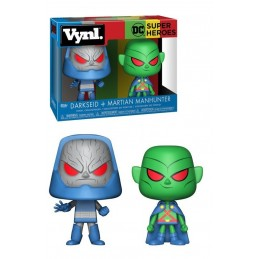 DC COMICS VYNL VINYL FIGURES 2-PACK MARTIAN MANHUNTER VS DARKSEID 10 CM FUNKO