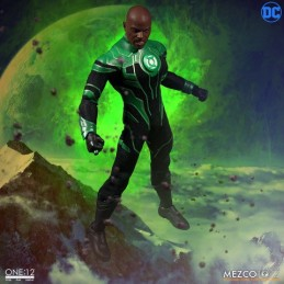 MEZCO TOYS GREEN LANTERN JOHN STEWART ONE:12 ACTION FIGURE