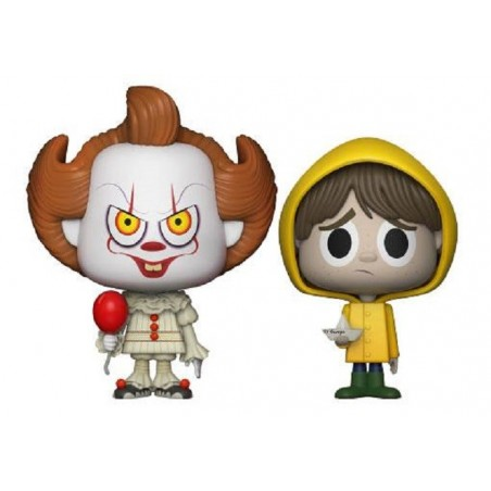 IT VYNL VINYL FIGURES 2-PACK PENNYWISE AND GEORGIE 10 CM