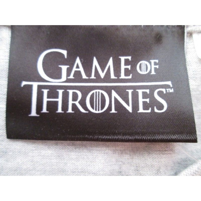 FELPA HOODIE GAME OF THRONES TRONO DI SPADE NERA