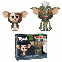 GREMLINS VYNL VINYL FIGURES 2-PACK GIZMO AND STRIPE 10 CM FUNKO