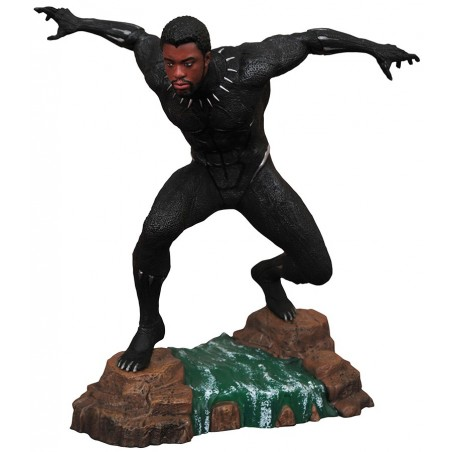 MARVEL GALLERY BLACK PANTHER MOVIE STATUE FIGURE