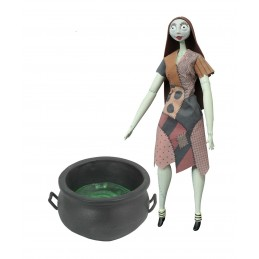 THE NIGHTMARE BEFORE CHRISTMAS - SALLY COFFIN WITH CAULDRON DOLL ACTION FIGURE