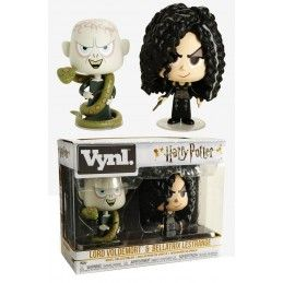 HARRY POTTER VYNL VINYL FIGURES 2-PACK BELLATRIX AND VOLDEMORT 10 CM FUNKO