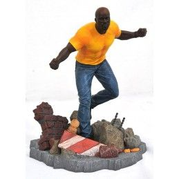 MARVEL NETFLIX DEFENDERS GALLERY LUKE CAGE FIGURE STATUE DIAMOND SELECT