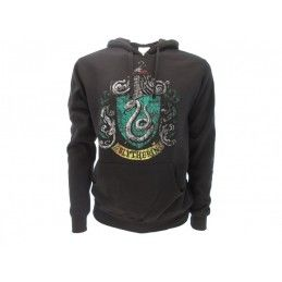 FELPA HOODIE HARRY POTTER SLYTHERIN SERPEVERDE