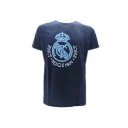 MAGLIA T SHIRT UFFICIALE REAL MADRID BLU NAVY