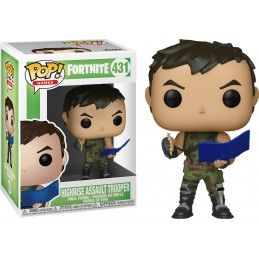 FUNKO POP! FORTNITE HIGHRISE ASSAULT TROOPER BOBBLE HEAD KNOCKER FIGURE FUNKO