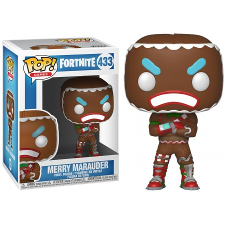 FUNKO POP! FORTNITE MERRY MARAUDER BOBBLE HEAD KNOCKER FIGURE
