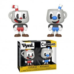 CUPHEAD VYNL VINYL FIGURES 2-PACK CUPHEAD AND MUGMAN 10 CM FUNKO