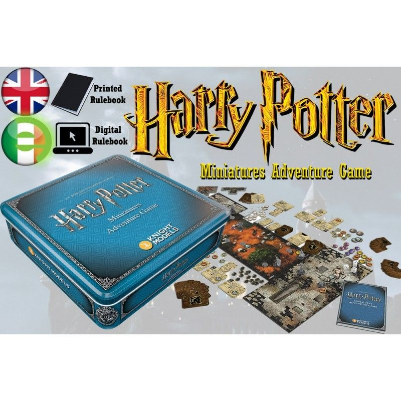 HARRY POTTER MINIATURE ADVENTURE GAME GIOCO DA TAVOLO ENGLISH ITALIANO