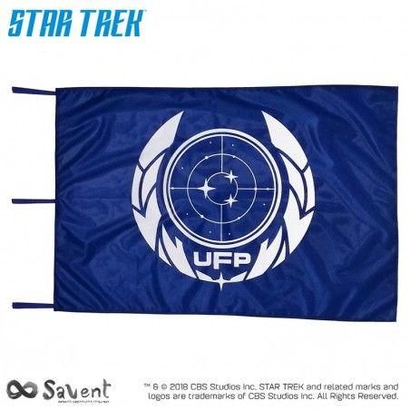 STAR TREK DISCOVERY UFP BLUE FLAG BANDIERA REPLICA