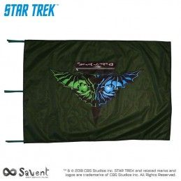 STAR TREK ROMULAN GREEN FLAG BANDIERA REPLICA SAVENT