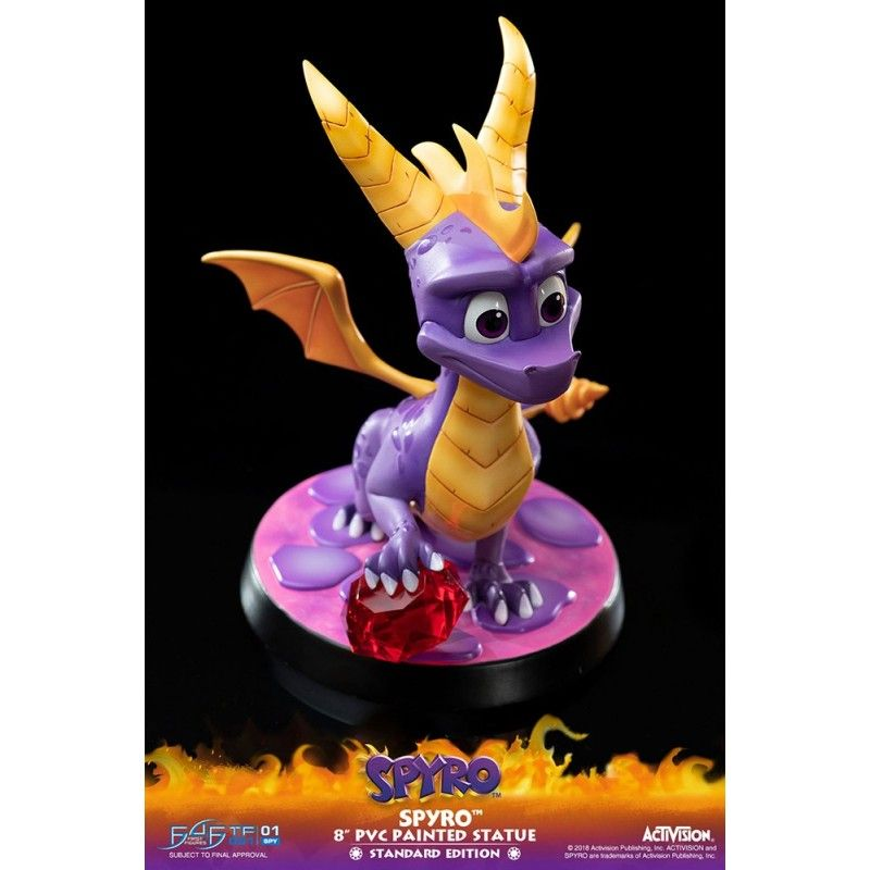 SPYRO THE DRAGON PVC STATUE 22 CM FIGURE FIRST4FIGURES
