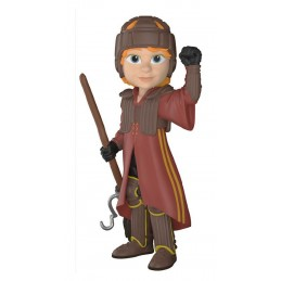 HARRY POTTER ROCK CANDY VINYL FIGURE RON IN QUIDDITCH UNIFORM 13 CM FUNKO
