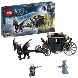 LEGO ANIMALI FANTASTICI FUGA DI GRINDELWARD 75951