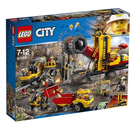 LEGO CITY MINING: MACCHINE DA MINIERA 60188