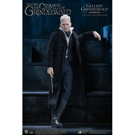 FANTASTIC BEASTS GELLERT GRINDELWALD 1/8 SCALE COLLECTIBLE ACTION FIGURE