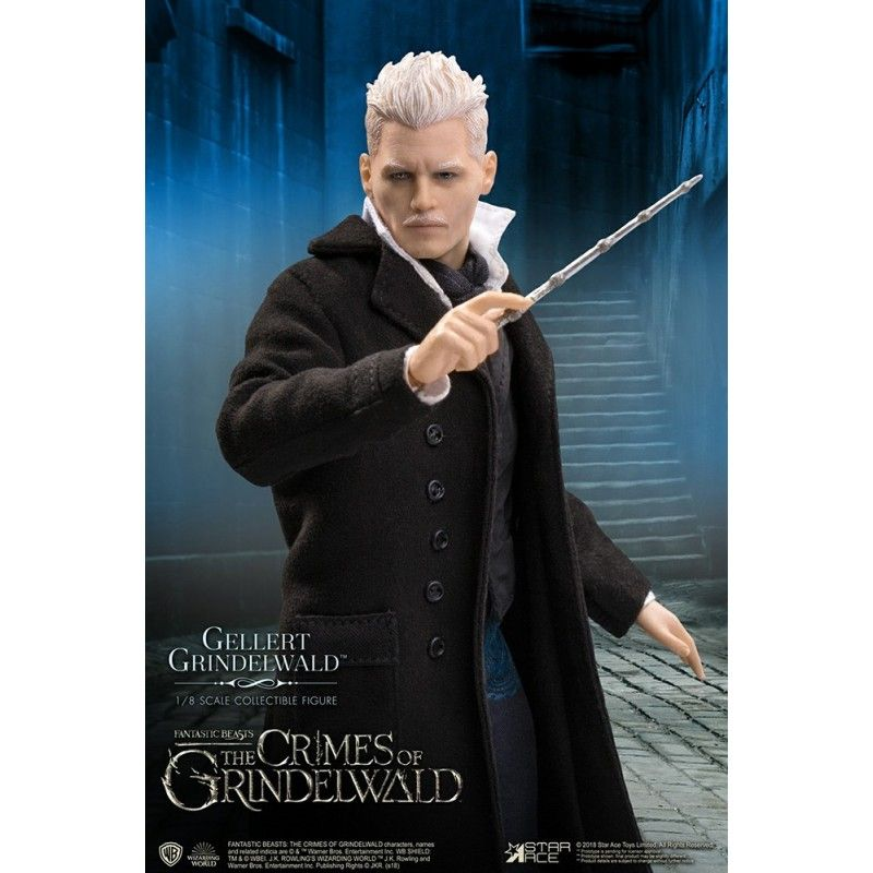 STAR ACE FANTASTIC BEASTS GELLERT GRINDELWALD 1/8 SCALE COLLECTIBLE ACTION FIGURE
