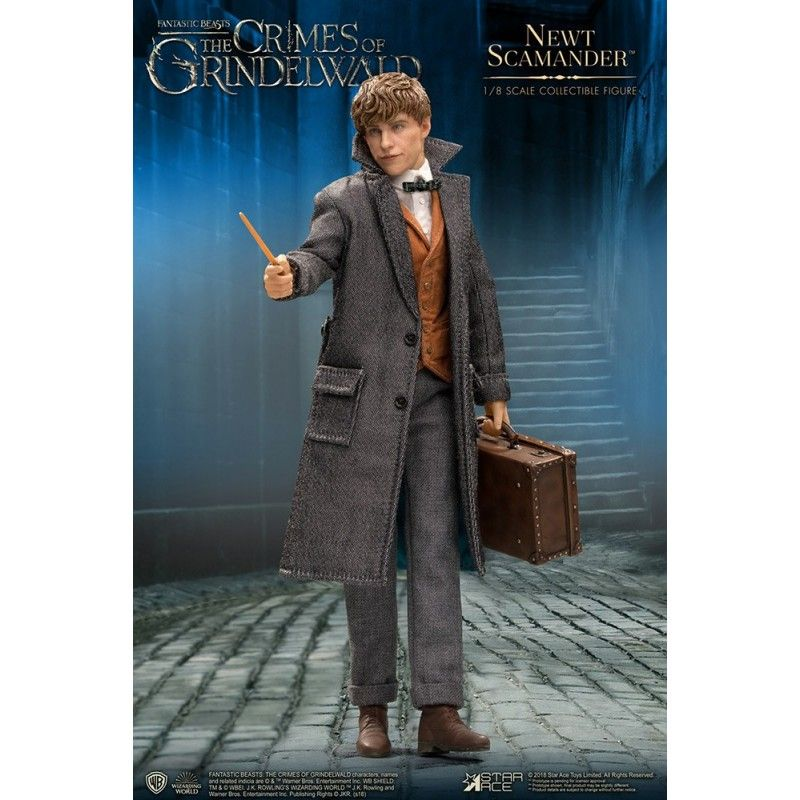 STAR ACE FANTASTIC BEASTS NEWT SCAMANDER 1/8 SCALE COLLECTIBLE ACTION FIGURE