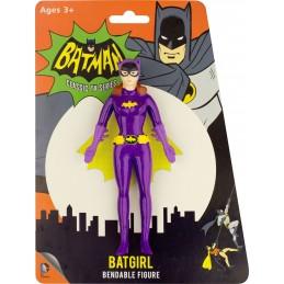 BATMAN 1966 BENDABLE FIGURE BATGIRL 14 CM