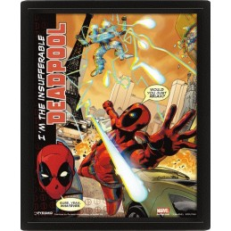 DEADPOOL LENTICULAR 3D POSTER 25X20CM PYRAMID INTERNATIONAL