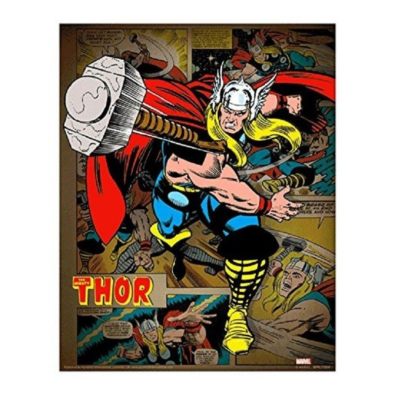 PYRAMID INTERNATIONAL THE MIGHTY THOR LENTICULAR 3D POSTER 25X20CM