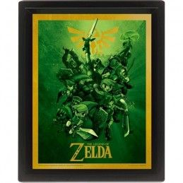 THE LEGEND OF ZELDA LENTICULAR 3D POSTER 25X20CM