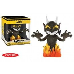CUPHEAD SUPER SIZED VINYL COLLECTIBLE FIGURE THE DEVIL 15 CM POP! FUNKO