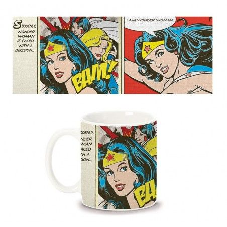 WONDER WOMAN MUG TAZZA CERAMICA