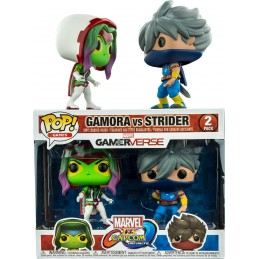 MARVEL VS. CAPCOM INFINITE POP! GAMES VINYL FIGURE 2-PACK GAMORA VS. STRIDER 9 CM