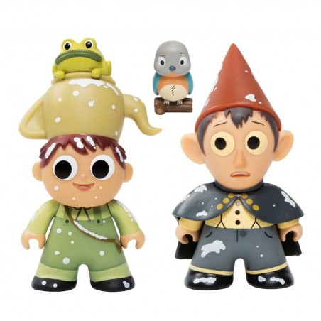 CARTOON NETWORK TITANS VINYL FIGURE 2-PACK WIRT AND GREG NYCC 2017 EXCLUSIVE 8 CM