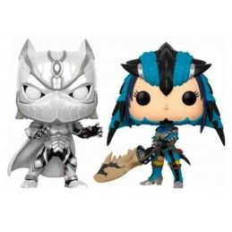 MARVEL VS. CAPCOM INFINITE POP! GAMES VINYL FIGURE 2-PACK BLACK PANTHER VS. MONSTER HUNTER 9 CM FUNKO
